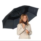 EasyComforts Black Windproof Umbrella