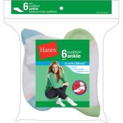 Hanes Ladies Socks Ankle 6 Pack