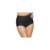 Hanes X245 Bali Seamless Extra Firm Control Brief 2-Pack Extra Large 2 Black