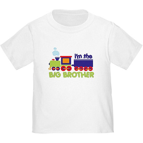 517e530e CafePress Baby Toddler Boy Train Big Brother T-Shirt by CafePress ...