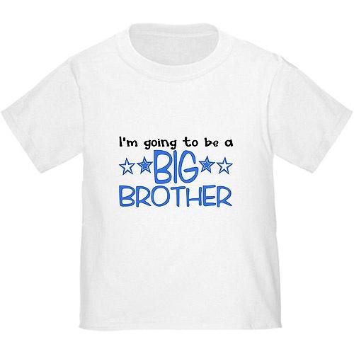 77647ca9 CafePress Baby Toddler Boy Big Brother T-Shirt by CafePress - Shop ...