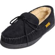 Daxx Men\'s Moccasin Sheepskin Slippers