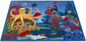 Educational Fish Tales Kids Rug Rug Size