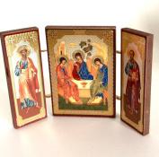 HOLY TRINITY ORTHODOX RUSSIAN ICON Saint Peter Saint Michael