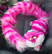 Disney Alice in Wonderland Cheshire Cat Long Tail Stole Boa Scarf Plush Doll NEW