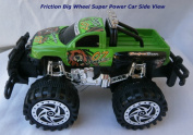 Green Bugbear Power Champion Friction Big Wheel Super Power Pickup Truck