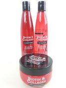 Biotin & Collagen Hair Care Set Contains Thickening Shampoo, Conditioner & Hair Mask