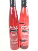 Biotin & Collagen Thickening Shampoo & Conditioner Set 300 ml Each