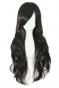"""MapofBeauty 28"""" 70cm Long Curly Hair Ends Costume Cosplay Wig"""