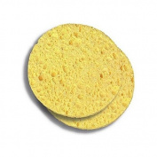 Donegal - Facial Skin Care, Deep Cleansing Facial Cellulose Sponges, Make-up Remover - 2 pcs Yellow