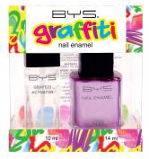 Bys Graffiti Duo Nail Enamel Gift Set - Stick It To The Man