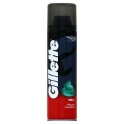 Gillette Shaving Gel Regular 200ml x 6