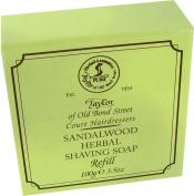 Taylors Of Old Bond Street Sandalwood Hard Shaving Soap Refill 57g