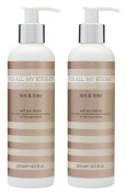 For All My Eternity Tan & Tone Firming Self Tan Lotion 2 x 250ml MULTIBUY. Firming and Toning Fake Tan with natural ingredients and plant extracts. Paraben free self tanning cream / lotion