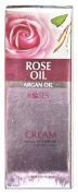 Rose Oil & Argan Oil Intensive Anti-Wrinkle, Instant Lift, Hydration Rich Eye-Contour Cream (Paraban-Free) - 30ml