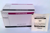 Sterile Non Woven 4ply Gauze Swabs 5cm x 5cm 25 packs of 5 Swabs