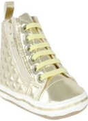 Replay Heritage Crib Trainers from Replay Crib Baby Girl`s Booties Gold