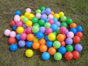 FUN HOUSE STYLE KIDS CHILDRENS PLASTIC PLAY BALLS FOR BALL PITS PEN POOL MULTI COLOURED TOY SOFT - COMES IN A SET OF 100, 200, 300, 400, 500, 600, 700, 800, 900, 1000.