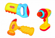 Intellectual Toy Tools Set with Lights and Sounds for Toddlers
