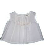 Jottum Baby Girls' SleevelessBlouse White white