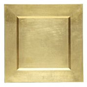 Charge it by Jay Gold Square Charger Plate