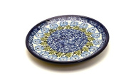 Polish Pottery Plate - 16cm Bread & Butter - Antique Rose Pattern