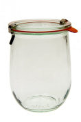 Weck 745 Tulip Jar - 1 Litre, Set of 6