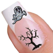Halloween Adhesive Nail Stickers Art