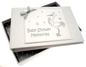 White Cotton Cards Baby Shower Tiny Photo Album