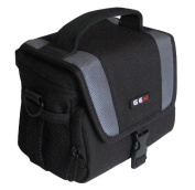 GEM Case for Panasonic HC-V130EB-K, HC-V250EB, HC-V550CT Camcorder plus a Compact Camera / Accessories
