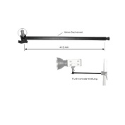 walimex Extension Arm with 1/4 and 1cm Spigot