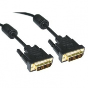 Cable-Tex DVI-D Male to DVI-D Male Single Link Cable 18+1 pins 1m