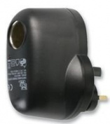 Ex-Pro® UK Mains to Cigarette Aux 12V DC Socket [Use car devices in your home !]