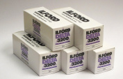 Ilford Delta 3200 Black and White 120 Roll Film 5 pack