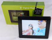 LOGIK L08DPF13 LED Backlight 20cm Digital Photo Frame SD / MMC / MS /SDHC- USB SLOTS