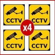 CCTV Warning Stickers