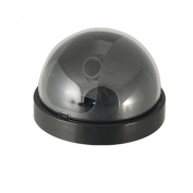 Security System CCD CCTV Camera Blk Round Housing Case
