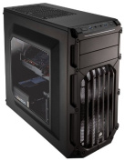 Corsair CC-9011053-WW Carbide Series SPEC-03 Windowed Mid-Tower ATX Gaming Case - Black with White LED Fan