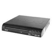 Akai A51001 Compact DVD Player with USB Port