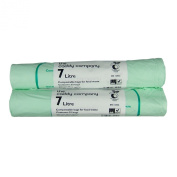The Caddy Company 7 Litre Compostable Bin Liners with 50 Bags