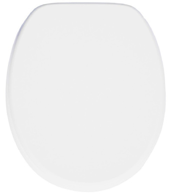 Soft Close Toilet Seat | Stable Hinges | Easy to mount | White