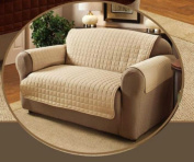 Beige One Seater Water Repellent Furniture Protector for Sofa/Settee