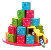 HDIUK Wooden Box tree Advent calendar, Wooden Calendar
