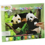 Paint By Numbers With 10 Paints ~ Pandas