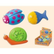 Animal Shaker (Fish, Snail or Beetle) Assortment - 1 Shaker Supplied