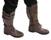 Star Wars Anakin Skywalker Jedi Boots - Brown - Costume Replica (Men