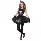 Halloween Zomerbine Kids Fancy Dress Girls Zombie Costume Outfit Ages 8-16