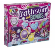 Groovy Labz Childrens Scented Bath Bomb Crystals Making Kit Girls Fun Science Se