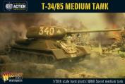 Warlord Games 1/56 WWII T-34/85 Medium Soviet Tank # WgB-RI-500