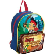 Disney Jake and the Neverland Pirates Boys Backpack / School Bag Rucksack with Front Pocket